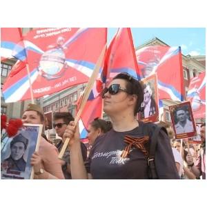 Сотрудники Кинокомпании «Союз Маринс Групп» прошли в строю «Бессмертного полка»