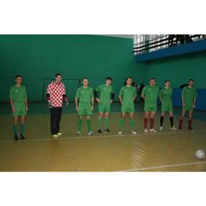 Томская таможня стала бронзовым призером в соревнованиях по мини-футболу