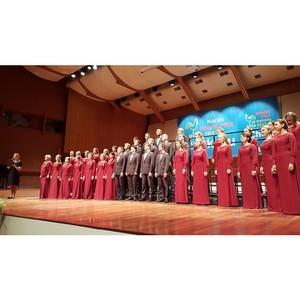 Две золотые медали вручили академическому студенческому хору вуза