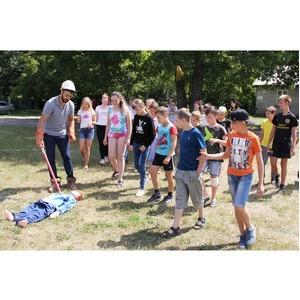 """Энергетики """"Пензаэнерго"""" провели фестиваль безопасности в детском лагере"""