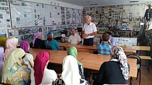 Активисты ОНФ в Чечне провели экскурсию для школьников и студентов в краеведческом музее