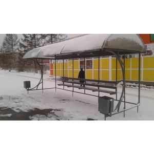 Активисты ОНФ провели мониторинг состояния автобусных остановок в Петрозаводске, Сегеже и Кондопоге