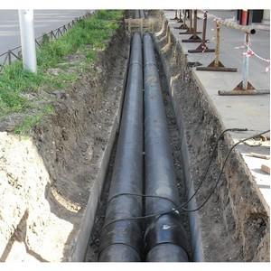 «Квадра» выполнила более 60% запланированных ремонтов теплосетей от Дягилевской ТЭЦ (г. Рязань)