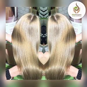 Обучение процедуре ботокс для волос в школе-студии Hair Expert