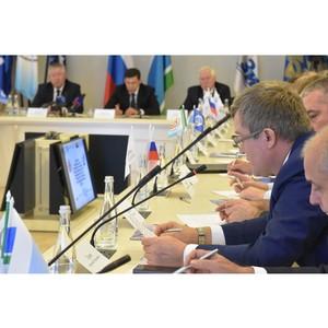Губернатор Свердловской области принял участие в заседании Свердловского реготделения СоюзМаш России