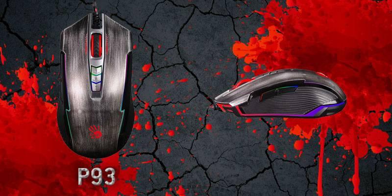 Игровая мышь A4Tech Bloody P93: снайперская прицельность и стальные нервы