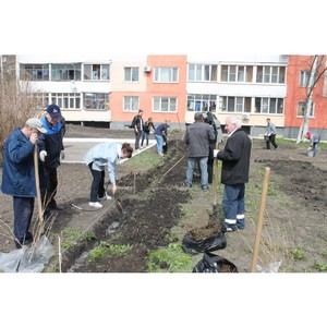 В Саранске по инициативе ОНФ заложен сквер художников Макаровых