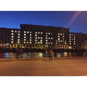 Участники команды «Молодежки ОНФ» в Санкт-Петербурге присоединились к акции «Победа в каждом доме»