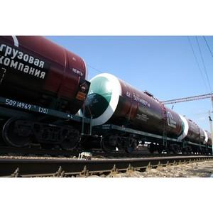 ПГК увеличила объемы перевозок в цистернах на Юге России