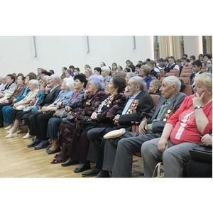 Тюменские активисты ОНФ организовали праздничный концерт для ветеранов Великой Отечественной войны