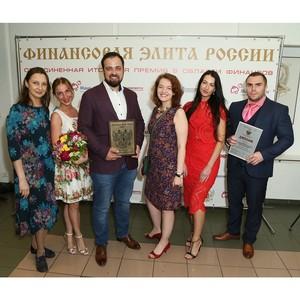 Микрофинансовая Компания «Мани фанни онлайн» — лауреат премии «Финансовая элита России 2017»