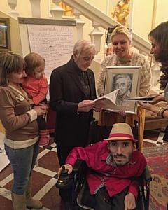Шарль Азнавур и Вреж Киракосян: встреча на армянской земле