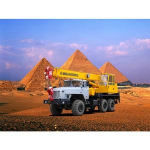 Российские автокраны «Ивановец» поедут в Египет
