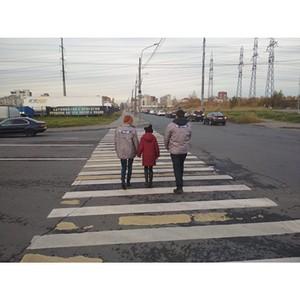 Активисты ОНФ в Петербурге присоединились к всероссийской акции «Дорога в школу»