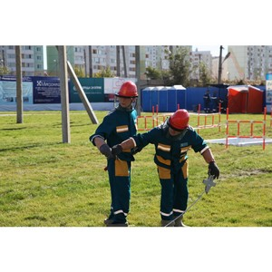 Команда МРСК Центра — призер Всероссийских соревнований профмастерства