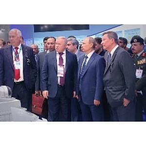 Владимир Путин оценил инновационный потенциал «Швабе»