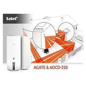 Новейший датчик-штора производства Satel c различными вариантами монтажа