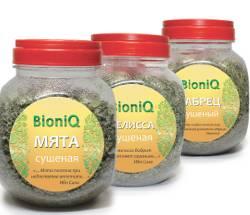 Новинка: сушеный травы BioniQ – ароматные добавки в чай
