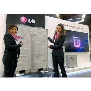 LG представляет экологичные решения в области кондиционирования воздуха на Chillventa 2014