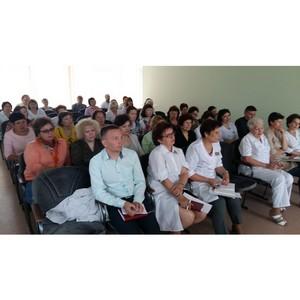 ОНФ в Алтайском крае проводит семинары по финансовой грамотности для работников здравоохранения