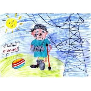 В «Мариэнерго» стартовал конкурс детского рисунка