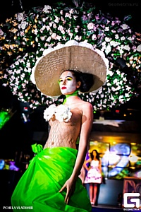 Проект Fashion Dolls вместе с Шато Тамань положил начало краснодарской весне