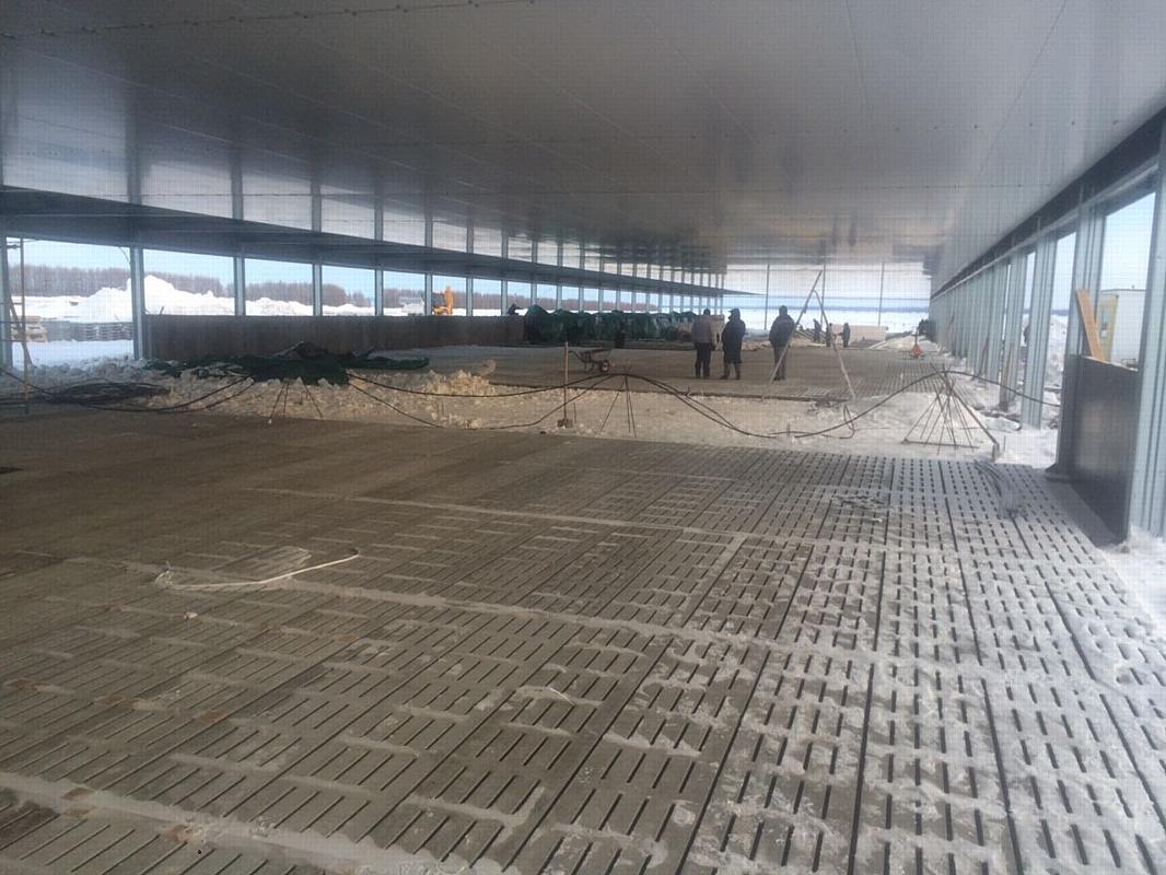 Отгружено первое здание площадки откорма свинокомплекса в Мордовии