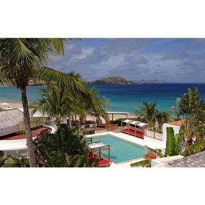 Роскошный отель Taïwana на острове Сен-Бартелeми