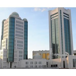 Компания «ИСБ-Инжиниринг» установила и ввела в эксплуатацию газовое пожаротушение в Парламенте РК
