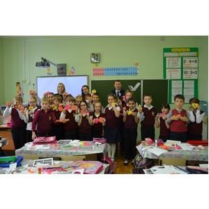 Московские активисты ОНФ провели мастер-класс для школьников по изготовлению фликеров