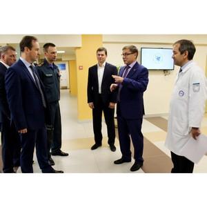 Представители МЧС России ознакомились с возможностями инновационного медицинского образования КФУ