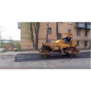 В Ивановской области начали ремонтировать дороги, отмеченные на карте дорожного проекта ОНФ