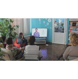 «Ростелеком» провел обучающий урок по работе в ЕЛК для пенсионеров в Благовещенске