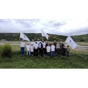 Ко Дню России «фронтовики» Дагестана провели экологические субботники