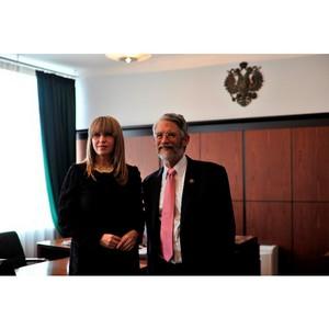 НИТУ «МИСиС» посетил Советник Президента США по науке доктор Джон Холдрен.