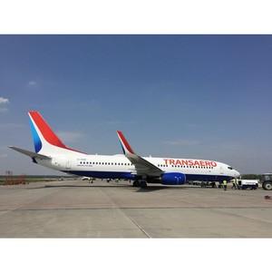 Авиакомпания «Трансаэро» начала полеты по маршруту Санкт-Петербурга - Шанхай