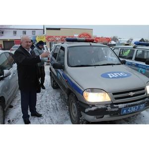 Активисты Народного фронта проверили безопасность и качество пассажирских перевозок в Барнауле