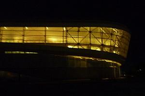 """Оборудование """"IntiLED"""" в архитектурной подсветке олимпийского объекта в г. Адлер"""