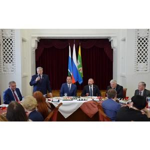 Собрание в честь 15-летия стратегического плана
