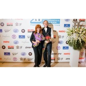 «Баскин Роббинс» поздравил олимпийских чемпионов  Наталью Бестемьянову и Андрея Букина с юбилеем