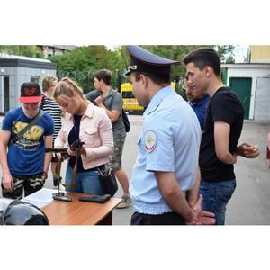 Юные зеленоградцы пришли в гости к сотрудникам полиции