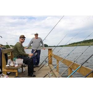 «Липецкцемент» провел соревнования по рыбной ловле среди своих работников