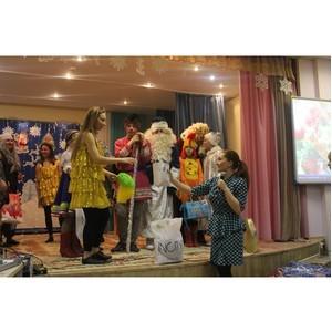 Химчистка «Диана» поздравила подопечный детский дом