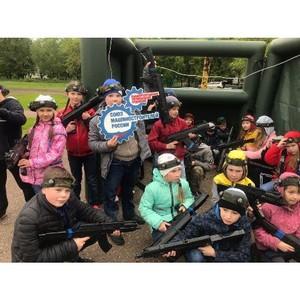 Воспитанники ЦДТ «Умелец» сыграли в военно-патриотическую игру «Зарница»
