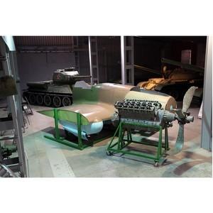 Музей Уралвагонзавода получил «летающий танк»