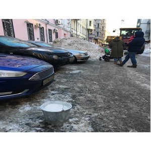 ћосковский ќЌ' направил предложени¤ столичным власт¤м об изменении системы использовани¤ реагентов