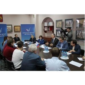Ивановские активисты ОНФ обсудили механизмы взаимодействия надзорных органов и бизнеса