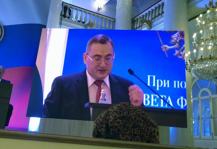 Ректор УрГЭУ Яков Силин принял участие во Всероссийском экономическом собрании