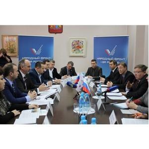 Активисты ОНФ обсудили с губернатором Ивановской области реализацию общественных предложений