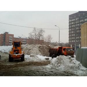Московский штаб ОНФ обнаружил, что народная оценка качества уборки снега не совпала с официальной